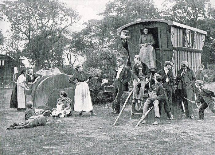gypsies 1897. Thanks to 'Old Colchester and district photos'