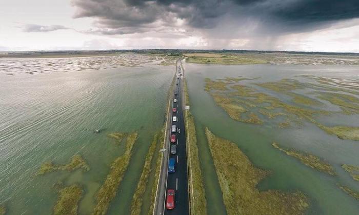 mersea island road